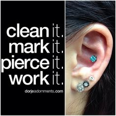 Don't really like the studs but I love the quote XD