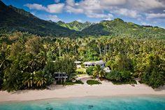 Beach Bars en el mundo: Shipwreck Hut (Islas Cook)
