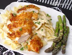 Crispy Italian Chicken and Pasta