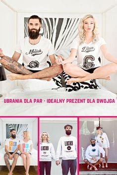 Ubrania dla par - idealny prezent dla dwojga na walentynki, ślub i inne okazje http://www.prezentujeprezenty.pl/2016/02/ubrania-dla-par-idealny-prezent-dla-dwojga/