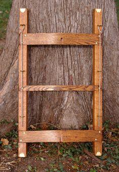 Woodcraft Project ~ Trapper Nelson Indian Packboard Restoration ...