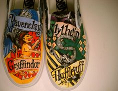 If only they were cheaper...    Hand Painted Custom Vans or Toms by SoleSistersShoes1 on Etsy, $150.00