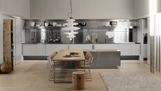 Kitchen:Modern Minimalist Hideaway Kitchen Spatia By Arcline Spatia Nordic Kitchens Design Style Beautiful Nordic Kitchens Design Style