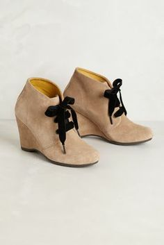 e00daa3a7cb8 Velvet Laced Booties http   rstyle.me ~13anR Anthropologie Shoes