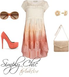 """Simply Chic"" by the-look004 ❤ liked on Polyvore"
