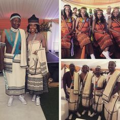 Lunga & Rosette Ncwana wedding: #xhosa #traditional #wedding
