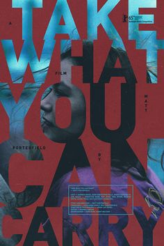 take what you can carry | film poster
