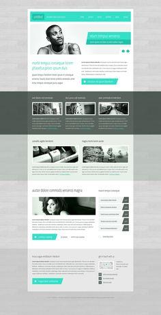 Minimalistic corporate theme  by ~nodethirtythree  http://fav.me/d588rmd