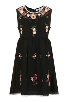 9fe046ffd423   Floral Embroidered Dress by Glamorous Glamorous Dresses