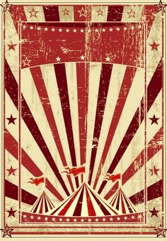 circus background | Vintage circus background vector graphic 03