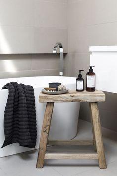 Des idées de banc et de tabouret pour la salle de bain   BricoBistro