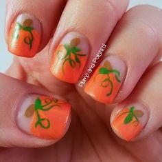Great Pumpkin - Nail Art for Halloween