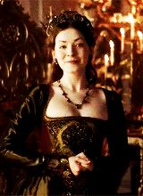 "lady-arryn-deactivated20140718: "" mary tudor + smiling (requested by anonymous) """