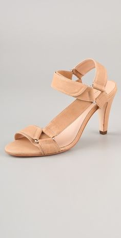 My fave shoe designer does a non-patent nude heel - Thank You!  A nude heel looks crazy good with summer dresses and suits, elongating your leg in style.  A matte finish is more sophisticated than patent. Do it!
