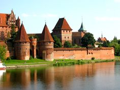 malbork castle   malbork castle of teutonic knights, pomerania 1