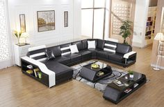 2016 Sale Sofas For Living Room Armchair Chaise Home Furniture European Style Genuine Leather Sofa For Living Room Set U Shape(China (Mainland)) Genuine Leather Sofa, Modern Leather Sofa, Leather Sofas, Modern Sofa, Bean Bag Living Room, Living Room Sets, Elegant Living Room, Living Room Modern, Bath Chair For Elderly