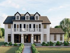 050H-0315: Two-Story Southern House Plan; 3121 sf