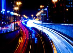 Birmingham traffic at night #birmingham #night #traffic