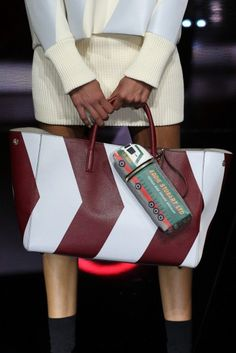 LFW Runway Report: Anya Hindmarch Fall 2015 via OliviaPalermo.com