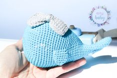 Stuffed whale toy, blue whale, baby rattle crochet, toddler toy, cuddly baby, whale for baby room, cute rattle, baby gift, soft toys, baby, Baby Whale, Crochet Toddler, Baby Rattle, Toddler Toys, Baby Room, Baby Gifts, Crochet Hats, This Or That Questions, Cute