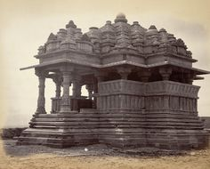 Small Sar Bahau Temple, [Gwalior]