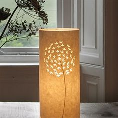 A roundup of beautiful handmade lamps