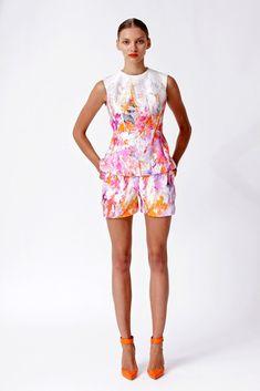 Monique Lhuillier Resort 2013 Fashion Show