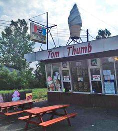 Cayuga County Ice Cream Stands - Tom Thumb