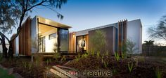 Beach Box Container House | Australia | Designed by John Robertson of OGE Group Architects