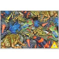 Piatnik Big Frogs 1000 Piece Jigsaw Puzzle