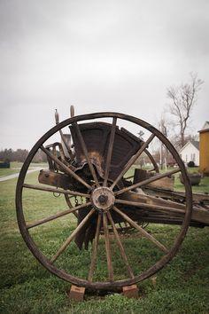 Fairview Farm provides many props for weddings.  www.fairviewfarmevents.com