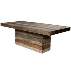 San Quentin - Tahoe Rectangular Dining Table | Tables | Dining Room