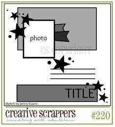 Creative Scrappers # 220
