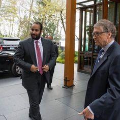 https://flic.kr/p/24iL3SR | Saudi Crown Prince and Bill Gates