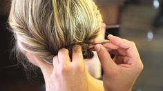How to Pin Up Your Hair in the Summer - Sally Hershberger