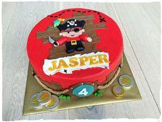 Pirate Cake | Piratentaart | Made by SimplySweet NL
