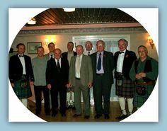RAF Kinloss Team Leaders 1971 to 2010. (Editing pending).  L to R. Tom Taylor, Al Sylvester, Ken Kensworthy, George Bruce, Dan Carrol, Steve Reeves, ?, Ray Sefton, Pete McGowan, David Whalley. [Cas Taylor].