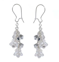 Tutorial - How to: Silver Bells Earrings | Beadaholique