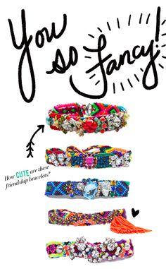 Ana Karolina Friendship Bracelets