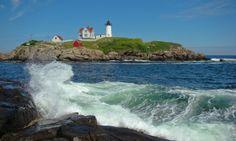 Cape Neddick Lighthouse    #Lighthouse #Maine #NovaInglaterra #NewEngland #Farol  #Faróis #EUA #USA #EstadosUnidos #Viagem # Leuchtturm #MauOscar
