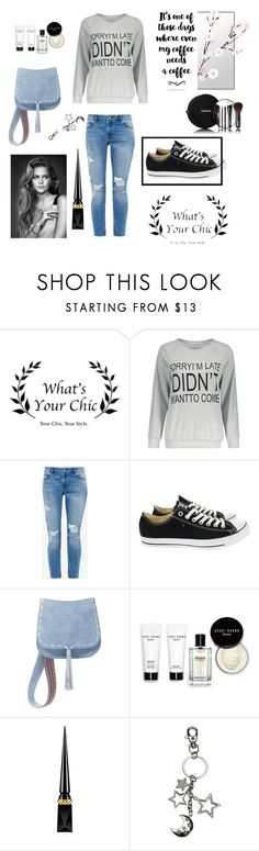 """https://www.whatsyourchic.com"" by selma-97 ❤ liked on Polyvore featuring Ted Baker, Converse, Steve Madden, Chanel, Bobbi Brown Cosmetics and Christian Louboutin"