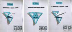 Leçon à manipuler sur les triangles – Tablettes & Pirouettes Triangle Isocèle, Triangles, Bullet Journal, School, Billboard, 1st Grades