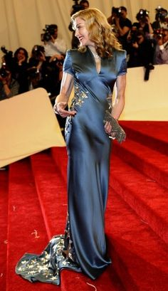 Vogue Daily — Madonna in Stella McCartney at the 2011 Met Gala