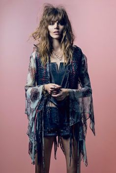 Kate Moss x Topshop Spring 2014 Collection - Freja Beha Erichsen
