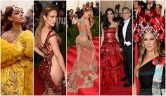 Copricapi folli, abiti esagerati, nude look e tanto rosso. Le 6 cose viste sul red carpet del Met Gala che potrai amare o odiare