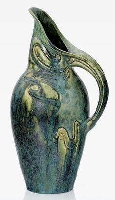 Pierre-Adrien Dalpayrat (1844-1910), Glazed Stoneware Vase.