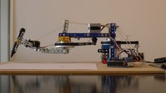 Arduino Blog » Blog Archive » Drawing Arm with Arduino