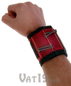 magnogrip magnetic tool wristband so he doesnt put those extra nails and screws best gifts for men