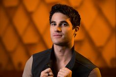 """Darren Criss needs to be reminded that he's a millennial. The 29-year-old former """"Glee"""" star is sitting in the gilded lobby of the Hollywood Pantages Theatre. Outside, banners proclaiming him the star of the rock 'n' roll musical """"Hedwig and the Angry Inch"""" line the star-spangled boulevard."""