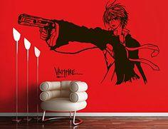 Vinyl Wall Decal Sticker Anime Comics Vampire Boy Gun Japanese Kids Bedroom A11 Sticker'Shop http://www.amazon.com/dp/B01959XEEA/ref=cm_sw_r_pi_dp_GuvAwb0J5CQ0N